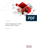 Oracle Sales Cloud Web Services
