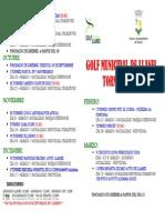 Calendario Competiciones Golf 2011