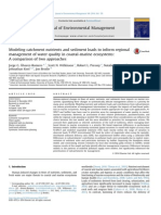 Modeling catchment nutrients and sediment loads to inform regional management of water quality in coastal-marine ecosystems
