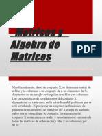 Matrices y Algebra de Matrices