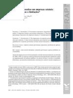 Governança Corporativa Em Empresas Estatais
