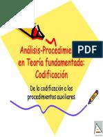 Procedimientos de Analisis TF-Codificación