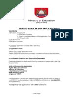 MOE AU Application