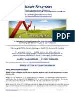 Market Strategies For High Return Investing - Free Newsletter