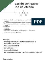 esterilizacion con oxido de etileno