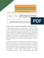 Modulo 05 Aula 02 Direito Ambiental No Brasil