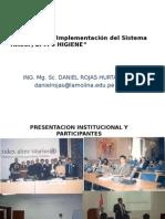 Presentacion y Buenas Practicas de Manufactura 2012