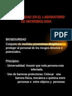Bioseguridad en El Laborato