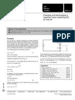p3611_e_Carga y Descarga de Un Condensador Con TRC
