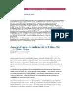 Jaques Copeau y La Escuela Profesional Del Vieux Colombier