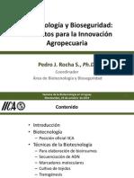 Biotecnologia Universidad Pedro Rocha