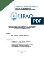 Trabajo de Investigacion - Recaudacon Valle Chicama Final