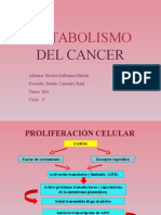 metabolismo del cancer