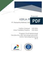 Proposal KP Pertamina UP IV Cilacap