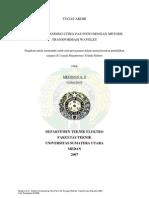 Sistem Pembanding Citra Pas Foto Dengan Metode Transformasi Wavelet