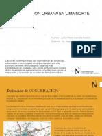 Conurbacion Urbana en Lima Norte