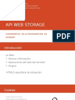 API Web Storage