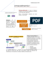 Farmacodinamia I