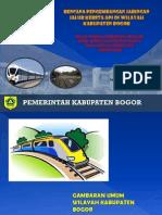 Paparan Pengembangan Jalur KA Kab Bogor Fix