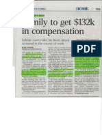 Family To Get $132K In Compensation