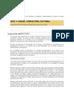 ARTE Y CIUDAD, CONSULTORA CULTURAL.
