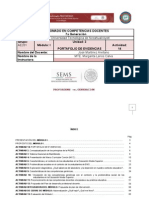 Profordems. Portafolio de Evidencias Módulo i.