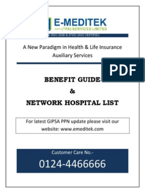 Emeditek Hospital List Pdf Mobile App Medical Diagnosis
