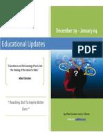 Educational Updates