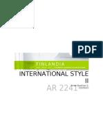 International Style II