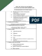 Sulfato de Magnesio HOJA DE SEGURIDAD