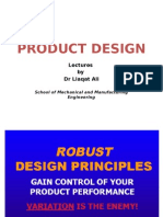 PD Robust Design