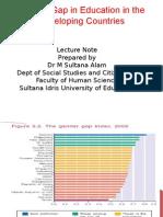 2014050813053012-Gender Gap in Education (Developing Countries)