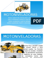 Maquinaria Moto niveladora