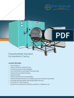 energypack Dewaxing autoclave