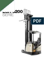 Carretilla Retractil Esr5200 Catalogo Es