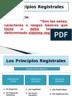 Los Principios Registrales