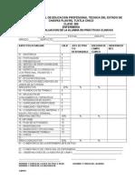 1 Hoja de Evaluacion de La Alumna en Practicas Clinicas