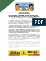Boletín de Prensa No 8