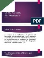 Using Corpus