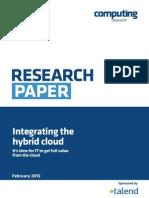 Integrating the Hybrid Cloud