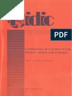 FIDIC Orange Book Part I General Conditions