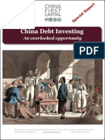 Credit in China --An Overlooked Investment Opportunity
