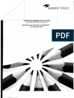 Report & Financial Statement Cover