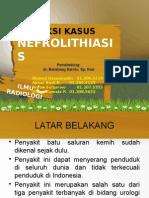 Refleksi Kasus Radiologi Nefrolithiasis