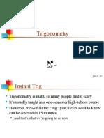 21 Trigonometry