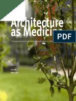 Architecture as Medicine