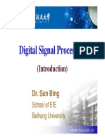1.Introduction for Digital Signal Processing