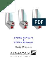 Katalog Alphacan Pvc Profili