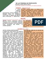 MIÉRCOLES DE TEMPORAS EN LA OCTAVA DE PENTECOSTÉS. PDF