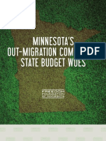 Minnesota's Out-Migration CoMpounds State Budget Woes